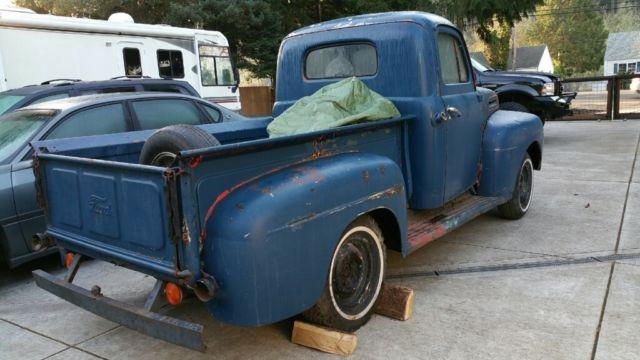 1950 ford f100 f1 rat rod patina restomod all steel. Black Bedroom Furniture Sets. Home Design Ideas