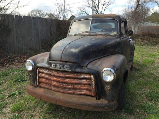 1950 gmc pickup 5 window patina rat rod like 1947 1953 chevy 3100. Black Bedroom Furniture Sets. Home Design Ideas