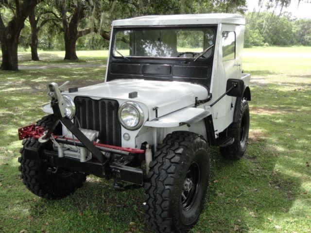 1950 jeep willy u0026 39 s cj3a 4x4 one of a kind lifted 35s auto