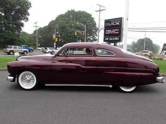 1950 merc custom chopped coupe