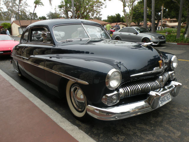 1950 mercury 2 door coupe 6 passenger model 72b very