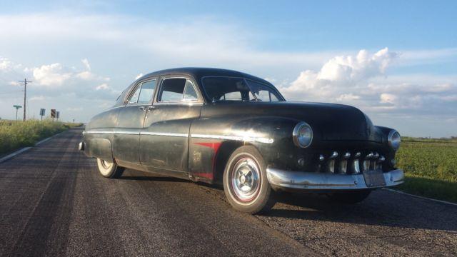 1950 mercury 4 door sedan 2nd owner barnfind driver for 1950 mercury 4 door for sale