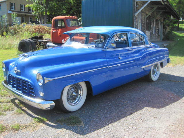 1950 Oldsmobile 88 Futuramic Base Eighty Eight 4 Door