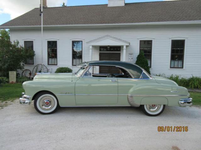 1950 pontiac chieftan catalina deluxe 2 door hardtop exc for 1950 pontiac 2 door