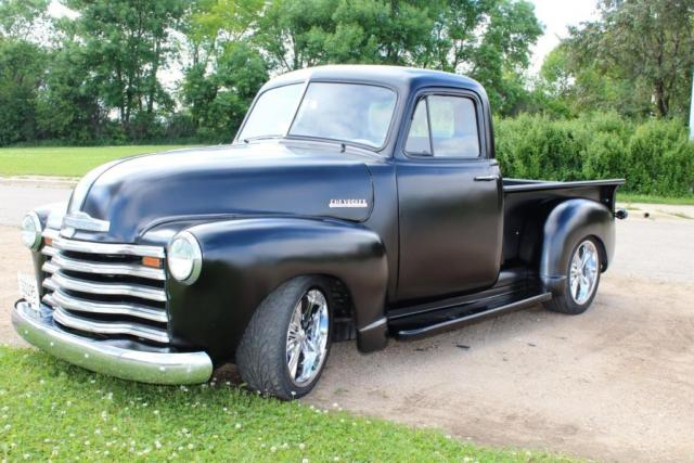 1951 Chevy 3100 3 Window Truck Hot Rod Rat Rod 350 Turbo