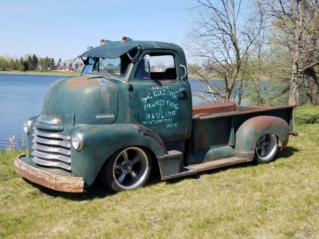 1951 Chevy Coe Cabover Pickup Truck Fuel injected V8 ...