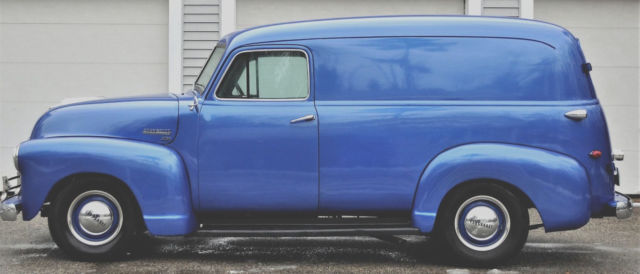 1951 CHEVY PANEL TRUCK 3100 HARD TO FIND