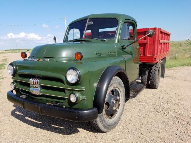 1951 DODGE B-3-G 1 1/2 TON TRUCK FARM WORK DUMP SHOP MOPAR PATINA 11K MILE 52 50
