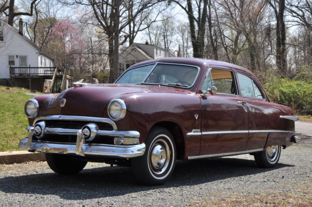 1951 ford 2d sedan for 1951 ford 4 door sedan