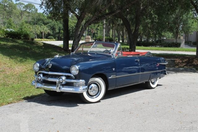1951 Ford Custom Convertible 51