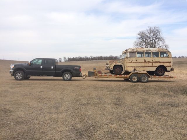 1951 Ford F3 F 1 F2 Pickup 20ft Long Bus Chevy Dodge