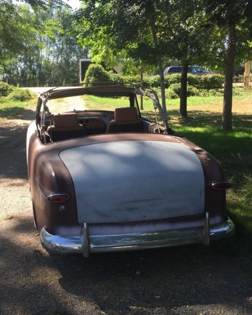 1951 Ford Tudor Convertible (Project Car