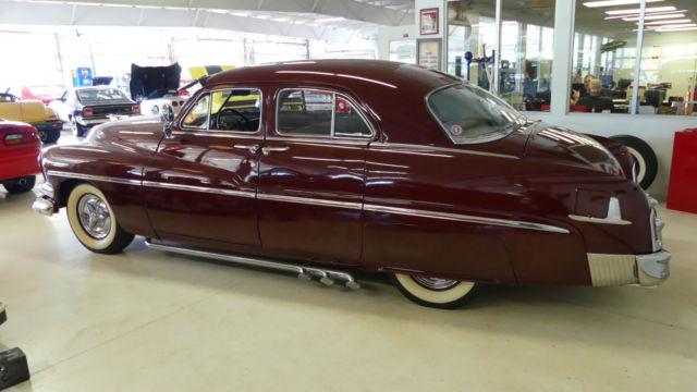 1951 mercury sedan 55660 miles burgundy maroon 4 door for 1951 mercury 4 door sedan