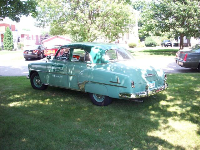 1952 chevrolet 4 door styleline deluxe for 1952 chevy deluxe 2 door for sale