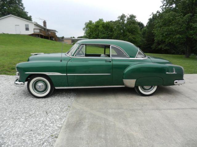 1952 chevrolet bel air two door hardtop for 1952 chevy two door hardtop