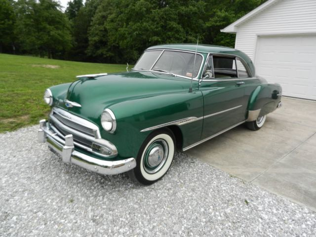 1952 chevrolet bel air two door hardtop
