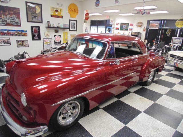 1952 chevrolet custom street rod master deluxe two door for 1952 chevy 2 door hardtop
