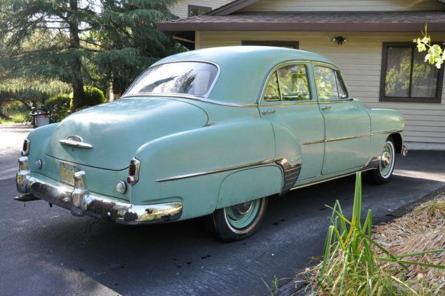 1952 chevrolet styleline deluxe base sedan 4 door 3 5l for 1952 chevrolet 4 door sedan
