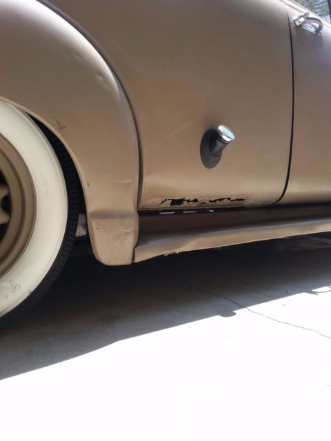 Case Clamshell Fenders : Chevy suburban carryall clamshell