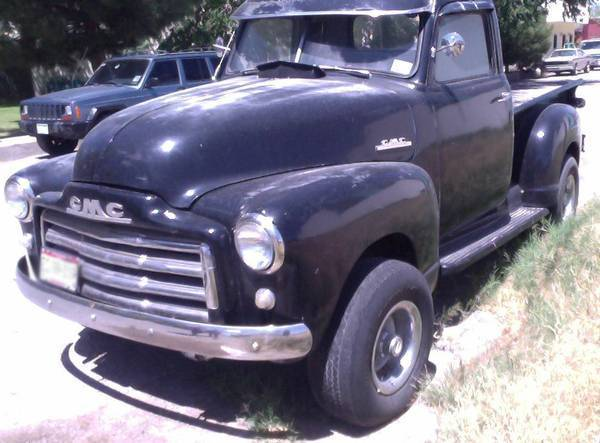 1952 GMC Pick up Truck Mexican title