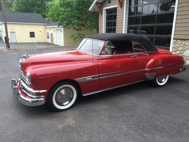 1952 Pontiac Chieftain Deluxe Convertible