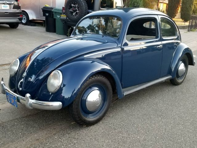 1952 volkswagen beetle split window all numbers matching for 1952 split window vw bug