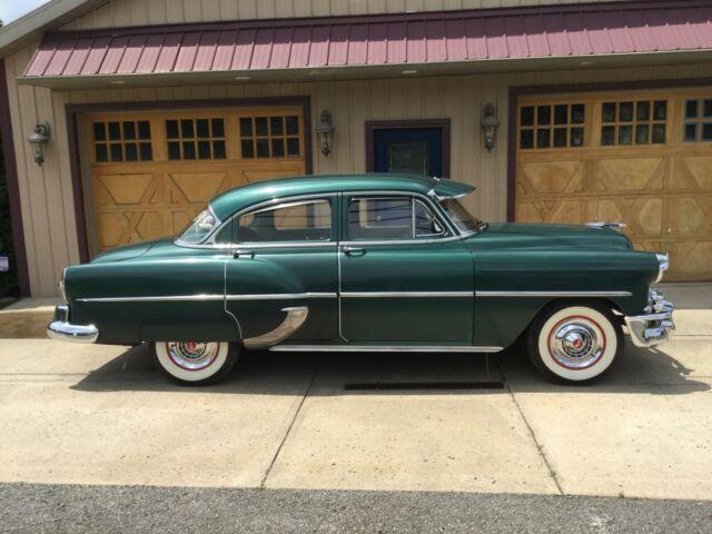 1953 Chevrolet 210 4 Door Sedan Two Owner 16k Factory Dress Up Kit Look