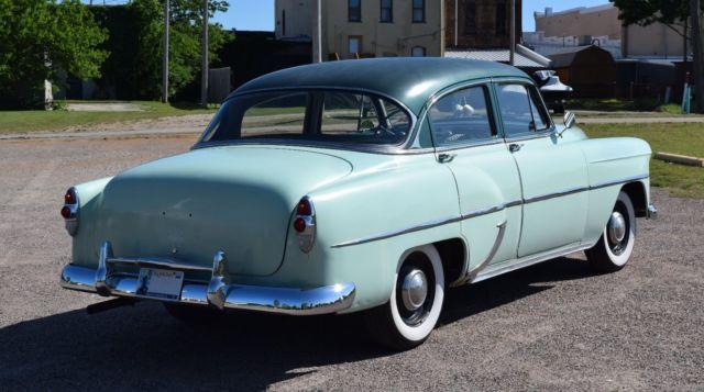 1953 chevy 210 4 door 6 cylinder 3 speed for 1953 chevy 4 door