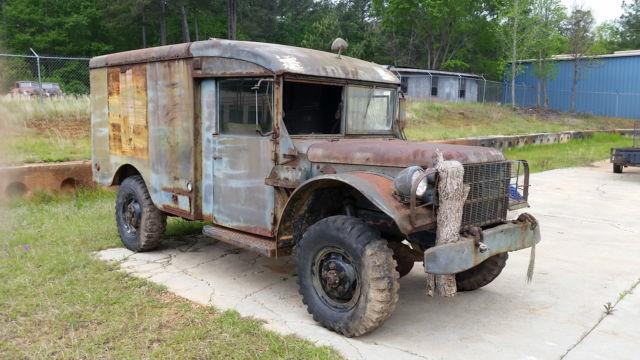 Dodge Truck M Ambulance Military Vehicle Air Force