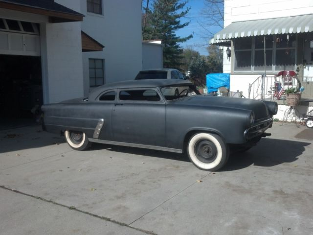 Interior clear glass door - 1953 Ford Chopped 2 Door Sedan Custom Rat Rod