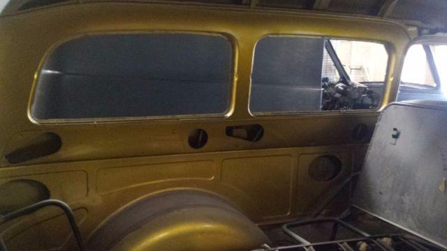 1954 chevrolet 2 door clamshell suburban for Clamshell door