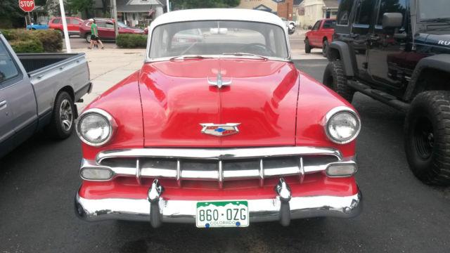 1954 chevrolet bel air sedan 4 door 6cyl 3spd for 1954 chevy belair 4 door