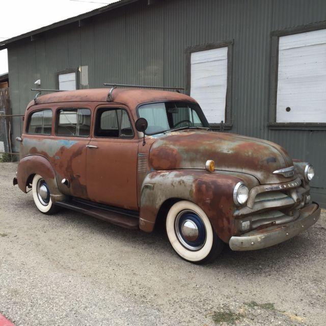 1954 Chevrolet Suburban Quot Carryall Quot Lowrider Custom 1950