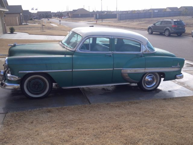 1954 chevy bel air 4 door daily driver