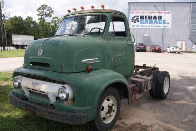 1954 ford c 600 cab over engine coe for Ford truck motors for sale