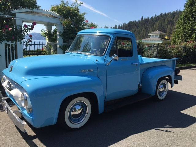 vin location on 1954 ford f100