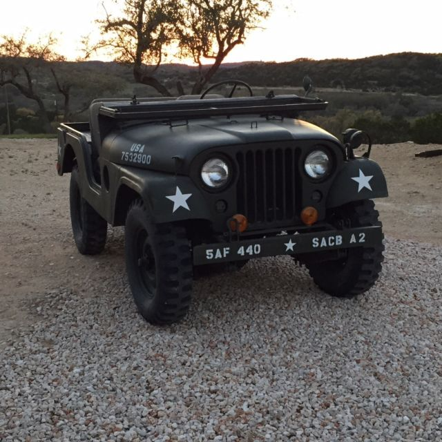 1954 Willys M38a1 Military Jeep