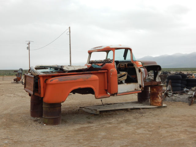 1955 chevrolet 3100 pickup big window project or parts truck