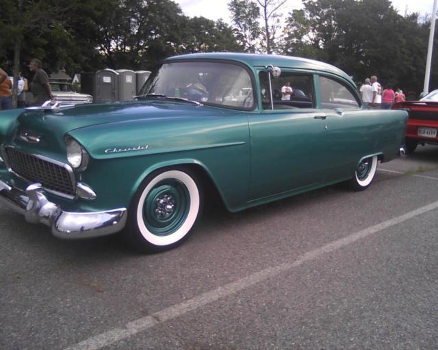 Car Auctions In Va >> 1955 chevy 150 post 38k original miles cool patina