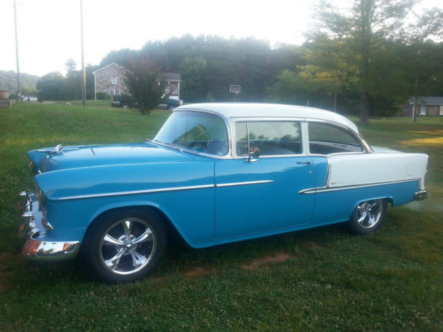 1955 chevy belair 2 door sedan for 1955 chevy two door