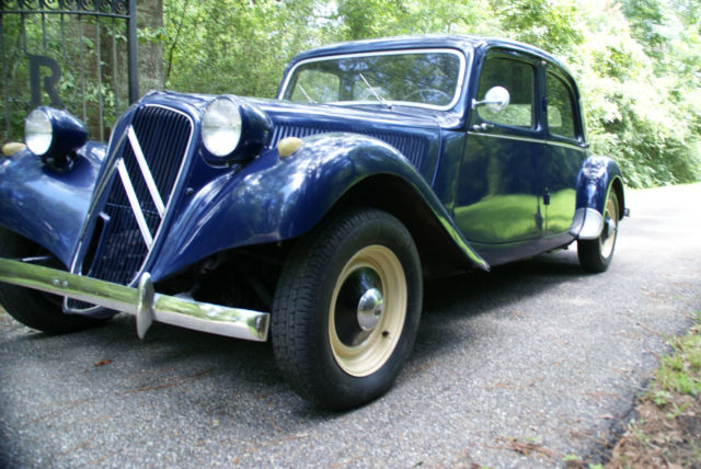 1955 Citroen Traction Avant 11b Vintage French Classic No Reserve
