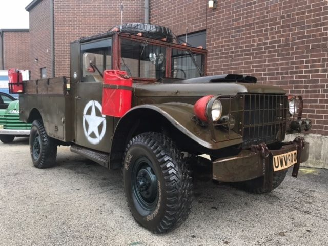 Sell Used 1954 Dodge M37 Military Power Wagon Serial 80260911 In