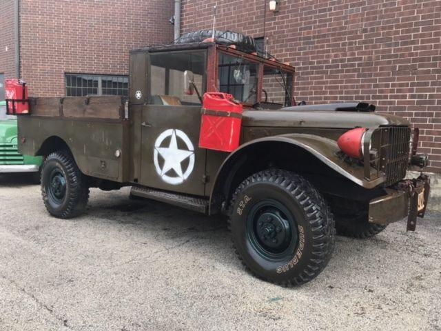 1955 dodge army truck power wagon