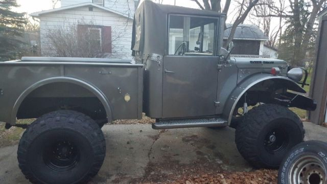 Dodge Power Wagon For Sale >> 1955 Dodge M37 Power WAGON