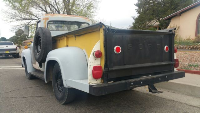 1955 ford f 250 3 4 ton truck. Black Bedroom Furniture Sets. Home Design Ideas