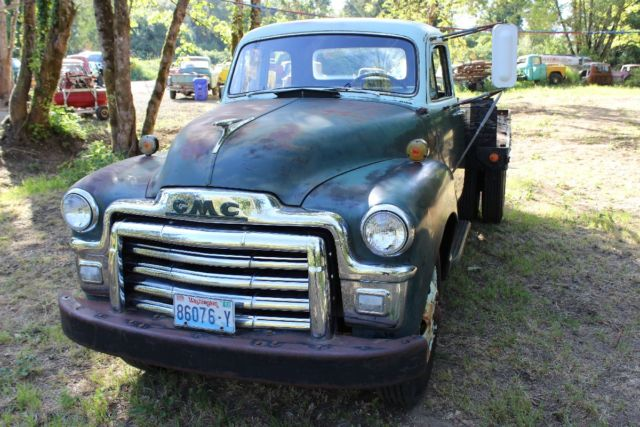 1955 gmc 5 window deluxe cab survivor farm truck for 1955 gmc 5 window pickup for sale