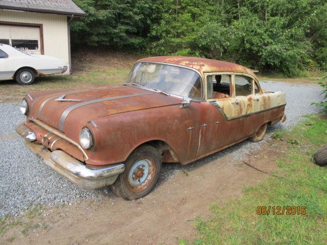 1955 pontiac starchief 4 door parts car for 1955 pontiac chieftain 4 door