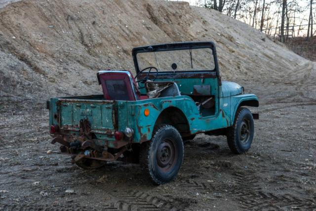 Used Cars Toledo Ohio >> 1955 Willys Jeep CJ5 w/ PTO & 3-Point Hitch, original agrijeep farm barn find