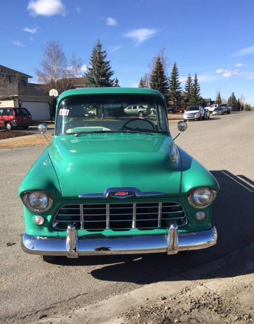 1956 Chevrolet 3100 1 2 Ton Pick Up With Stepside