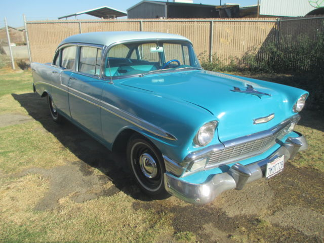 1956 chevrolet bel air 4 door sedan for 1956 chevy belair 4 door for sale